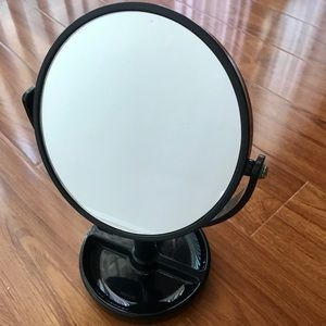 *3-for-10 item* DUAL SIDED MAKEUP MIRROR w/TRAY